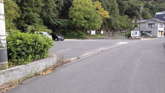 あぶと岬の駐車場②