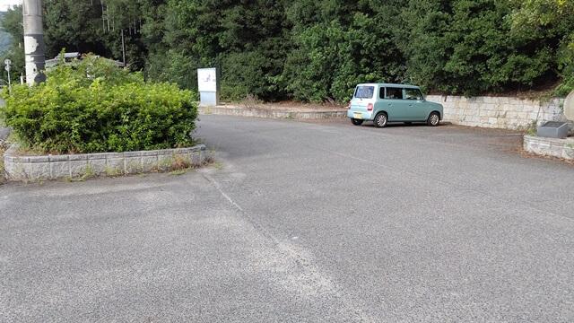 あぶと岬の駐車場