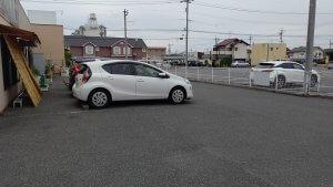まつもとの駐車場