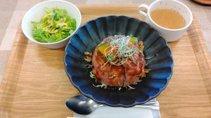 神石牛ローストビーフ丼