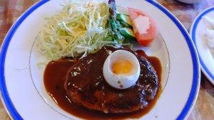 ハンバーグ定食②