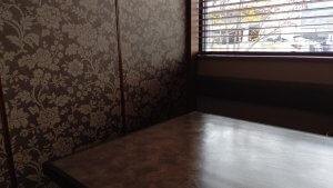 一龍のテーブル席
