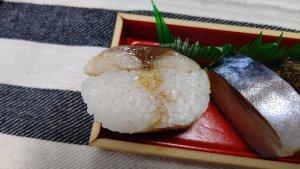 山勝本舗の焼きさば棒寿司③