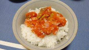 誉食品の紅鮭石狩漬④