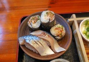 さば寿司と手巻き